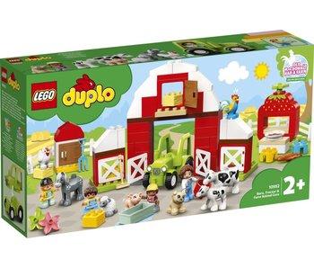 LEGO Duplo 10952 Grange, tracteur et soins aux animaux de ferme