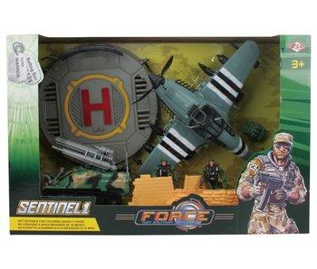 Force military speelset vliegtuig 3+