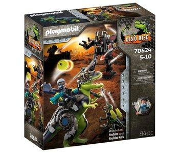 Playmobil 70624 T-Rex Bataille des Géants