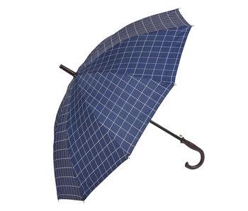 Clayre & Eef Paraplu 60 cm blauw