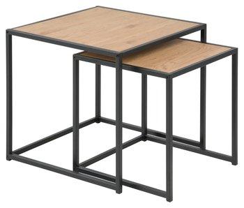 Set de 2 tables Seaford
