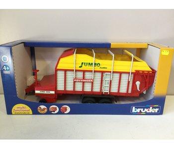 Bruder 02214 Trailer Pottinger Jumbo 6600 Profiline