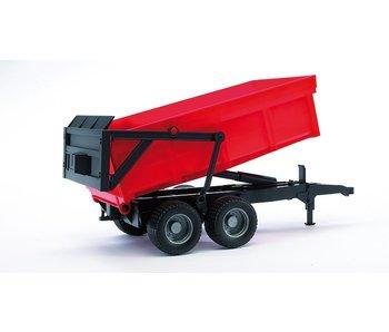 Bruder 02211 Benne basculante avec paroi arrière automatique