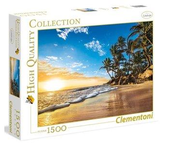 Puzzle HQC Lever du soleil tropical - 1500 pièces