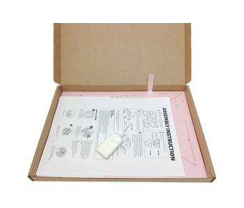 3D Papiervouwen - Bulldog  (11.8x7.5x14.2cm)