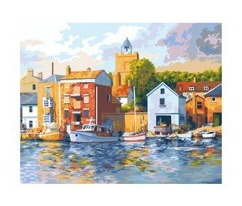 Peinture par numéros : Wivenhoe/ 40x50cm/24 couleurs