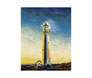 Schilderen op nummer:  Sea Guardian / 40x50cm / 18 kleuren