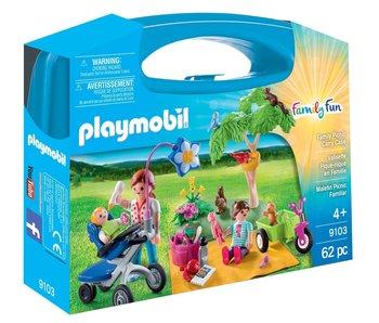 Playmobil 9103 Étui de pique-nique familial Cary