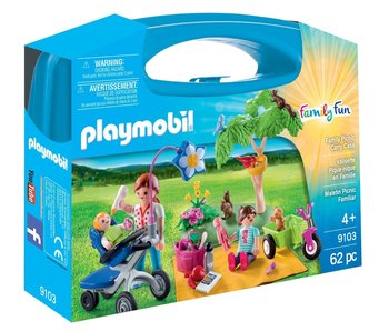 Playmobil 9103 Family Picnic Cary Case