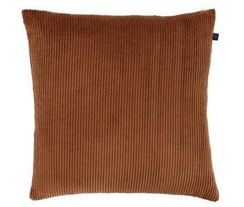 Kussen rib 45x45 - Copper