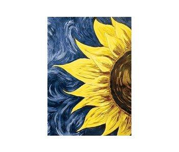 Dia paint WD030 - Sun energy 20x30 cm