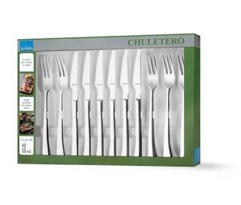 CHULETERO STEAKSET 12 DELIG
