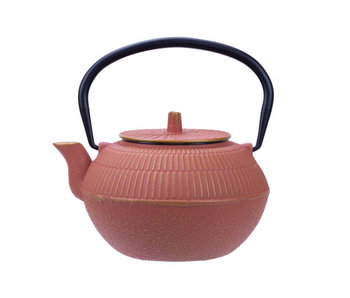 Kinosaki theepot terracotta 1,2lgietijzer