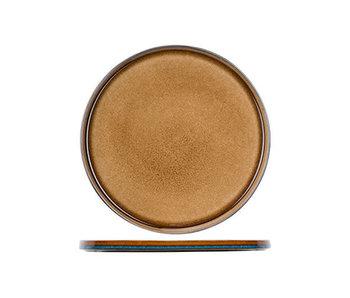 Assiette plate ambre Quintana d32,5cm
