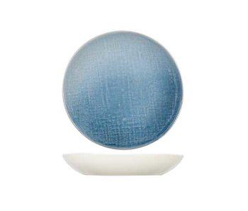 Assiette creuse bleu Jacinto d23.5xh4cm