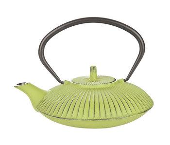 Umbrella theepot m.filter tsp65 groen 0,8l gietijzer