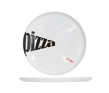 Assiette à pizza plus d37.5xh2.5cm allant au four