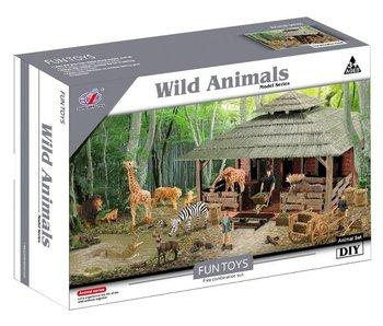 Boerderij met wilde dieren - 3+