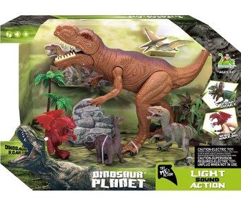 Dinosaurus planeet (licht en geluid) 3+