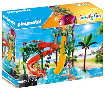 Playmobil 70609 Parc aquatique avec toboggans