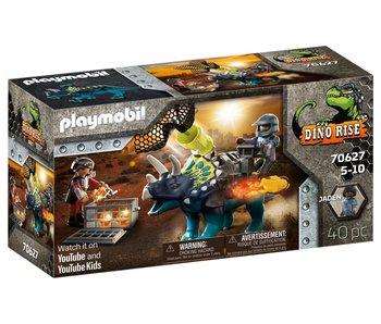 Playmobil 70627 Triceratops : Rage autour des pierres légendaires
