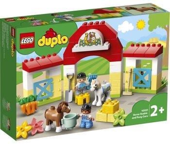 LEGO Duplo 10951 Écurie et soins poneys