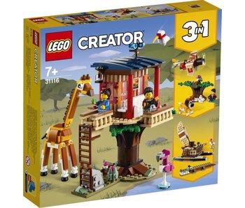 LEGO 31116 Cabane d'animaux sauvages Safari