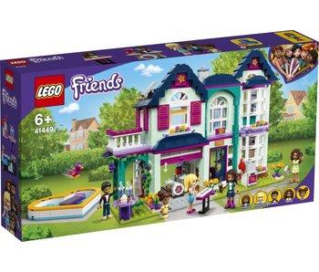 LEGO Lego Friends 41449 La maison familiale d'Andrea