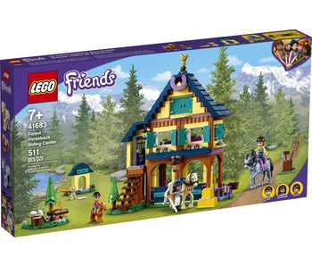 LEGO Lego Friends 41683 Paardrijbasis in het Bos