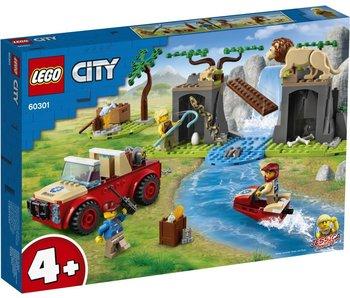 LEGO Lego City 60301 Sauvetage de la faune hors route