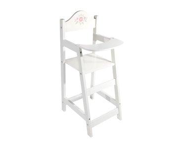 Chaise de poupée bois 21,5x26,5x53 cm