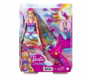 Barbie Dreamtopia Haarverzorgingspop en accessoires 3+