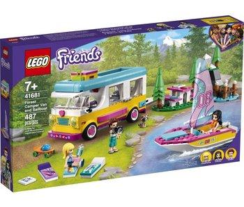 LEGO Friends 41681 Camping-car et voilier Forest