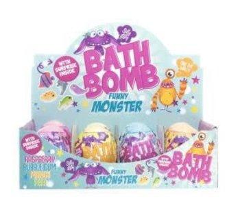 1 Bombe de bain Funny Monsters - surprise à l'intérieur
