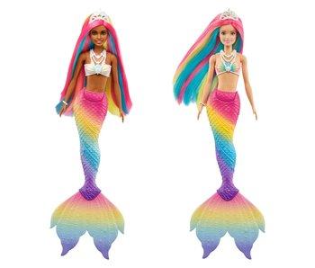 Barbie - Dreamtopia arc-en-ciel magique - poupée sirène 1