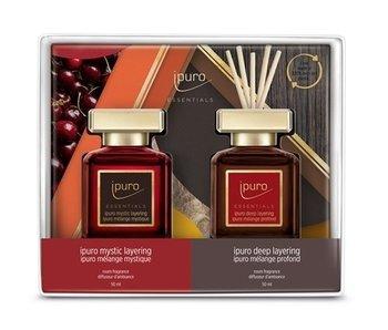 Ipuro Essentials Set 2x50 ml Mystic + Deep Layering