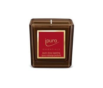 Ipuro Essentials kaars 125gr Deep Layering