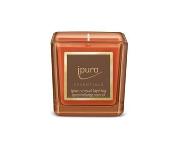 Ipuro Essentials bougie 125gr mélange sensuel