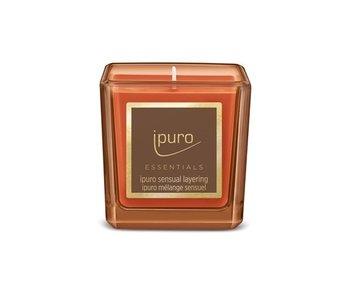 Ipuro Essentials kaars 125gr Sensual Layering