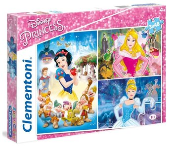 Puzzel Disney Princess - Princess 3x48 stukjes