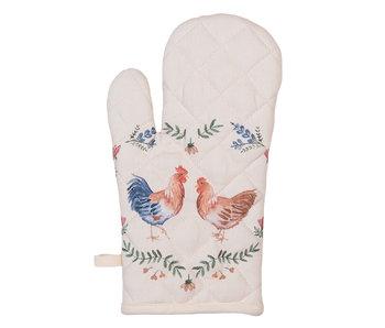 Clayre & Eef Gant de four  poulets - 18x30 cm