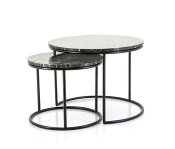 Table d'appoint Roméo lot de 2