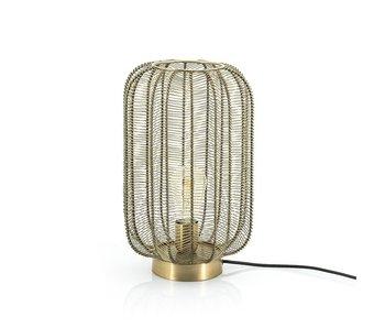 Tafellamp Carbo - bronze