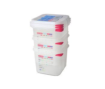 S3 vershouddoos herm. Gn1-6 1,7l h10cm polypropyleen