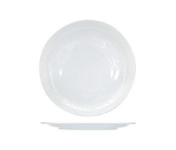 Nordika wit bord plat 26cm s6