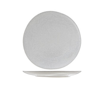 Perseus white  plat bord  d28.5cm