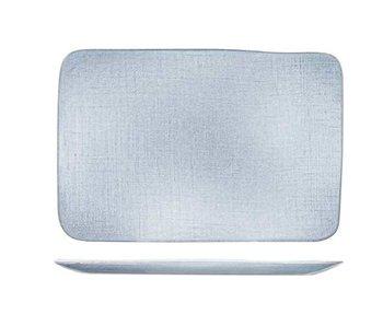 Sajet grey plat bord 29,8x20,3cmrechthoek