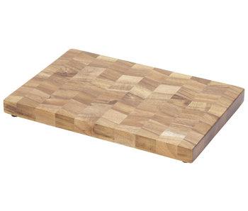 Snijplank 30x20xh2,5cm acacia