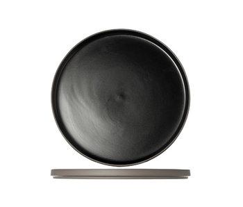 1350 black plat bord d28xh2cm
