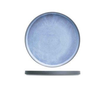 Baikal blue plat bord d22cm